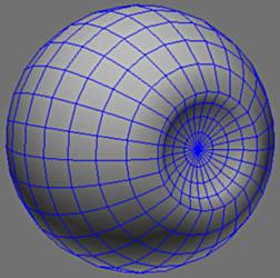 Жанна Д'арк. Моделирование глаза.