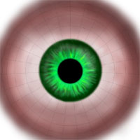 Жанна Д'арк. Текстурирование глаза.