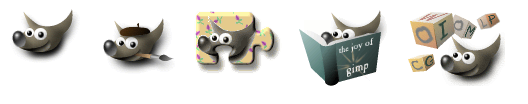 Логотипы GIMP